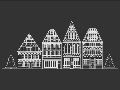 Old architecture of Germany
