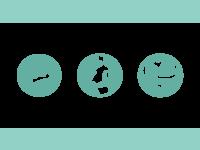 Midwifery icons
