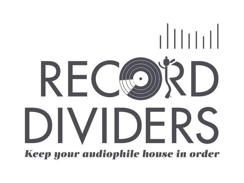 Record Shop Logo logo vector music illustration futura audio vinyl organize records lp