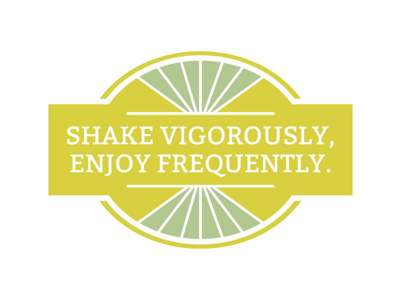 Shake It packaging label
