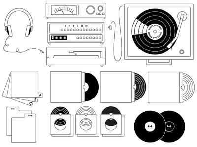 Vinyl Illustrations