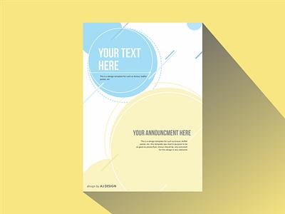 Blueyell graphic design layout