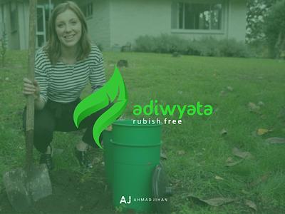 Adiwyata Logo graphic design branding logo design