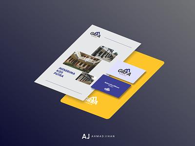 Gira Mukti Brand logo layout branding design