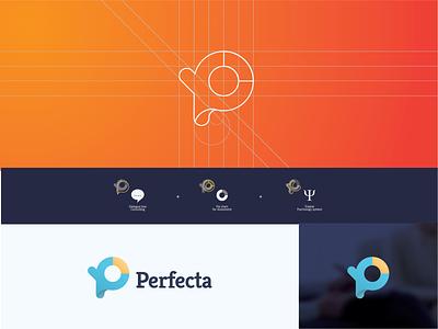 Logo Perfecta #2 typography icon character brand art vector web type minimal illustrator identity flat illustration logo branding layout graphic design design