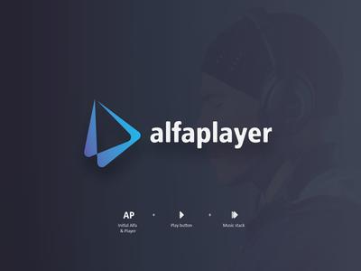 Logo alfaplayer