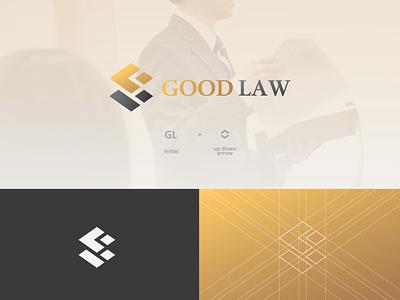 Logo Good Law (unused) vector flat minimal illustrator identity layout logo graphic design design branding