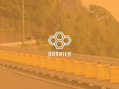 Barrier Logo (unused) flat minimal illustrator illustration identity layout logo graphic design design branding