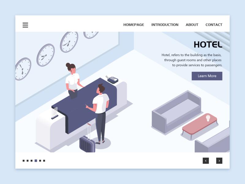 Hotel Scene business scenes