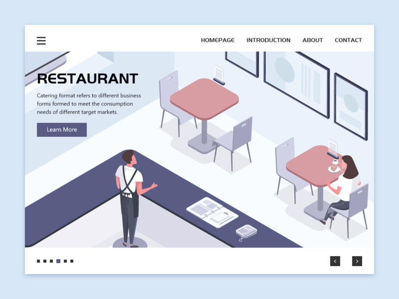 Restaurant Scene business scenes