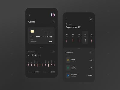 Financial App interaction financial app wallet mobile app income shot dribbble designer design web ux ui financial