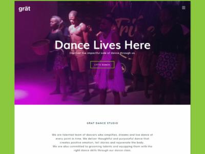 Grat Dance Studio Website