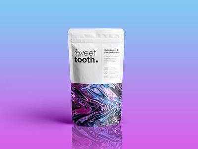 S W E E T / T O O T H type typogaphy packaging mockup packaging design packaging packagingpro food packaging design package sweet tooth sweets food packaging