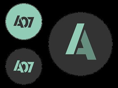 A07 brand design logo fitness logo a07