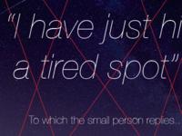 Tired Spot