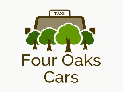 Taxi Logo green trees cars car logo taxi