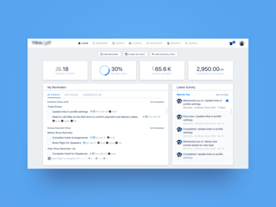 Event Management Dashboard