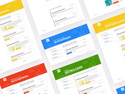 Cash Crate Website - UI/UX