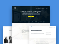 Our Website, 2018 software app navigation logo london kathmandu uk nepal design team agency website ui ux design agency web agency