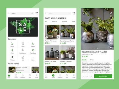 Plant E-Commerce App