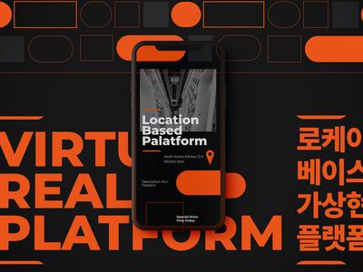Lbe VR Platform App Concept