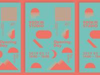 900km Studio, Poster