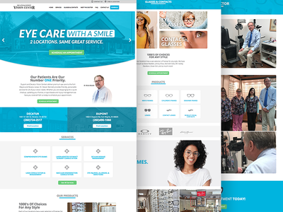 Vision Center Website