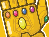 Infinity Gauntlet - Close Up