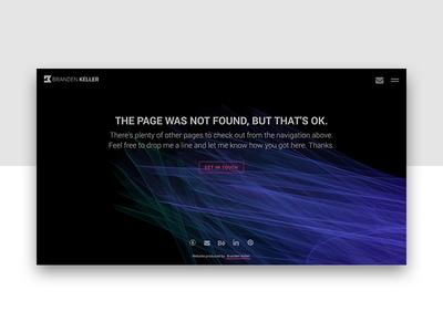 Daily UI 008 - 404 page p5.js javascript css html 404 error ui ux dailyui
