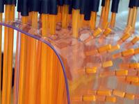 Rubber and fiberglass sculpture detail