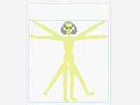 vitruvian woman, hedy lamarr, specifically