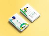 Business Card for Web Solutions Company