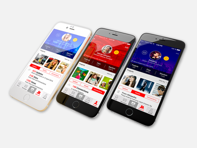 Castfolio iPhone6 3D Render iphone6 mobile app app ux
