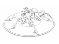 Zoid robot insect toy recreation