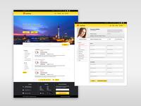 CastFolio Web Screens