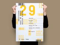 Typography poster MCB