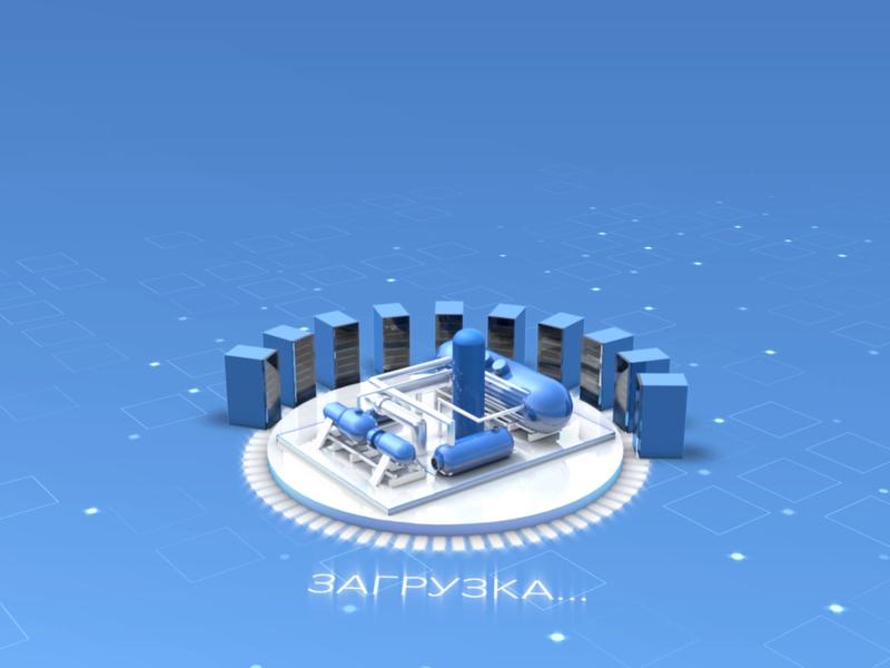 Gazprom Neft gazprom oil blue composition cinema 4d after effects