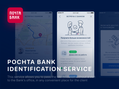 Identification Service For Banking App