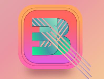 Logo vector branding affinitydesigner vibrant gradient logo design logo