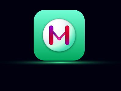 Big Sur Icon Concept logo web vector app ui design icon