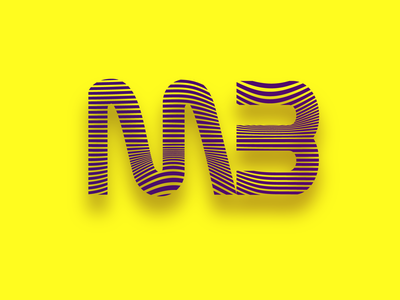 Logotype lines purple yellow letter logo branding typography gradient vector design logotype design logotype