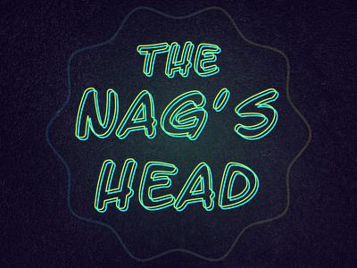 Neon Logo logotype graphic design design illustrator vector glow neon effect neon