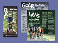 Central Florida Cycling Guide Brochure