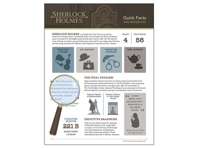 Sherlock Holmes Infographic