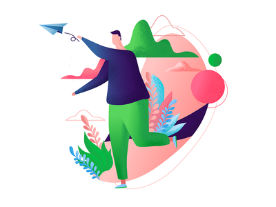 illustration for website 01 adobe illustrator illustration character 2d vector cute