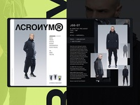 Acronym Product Card