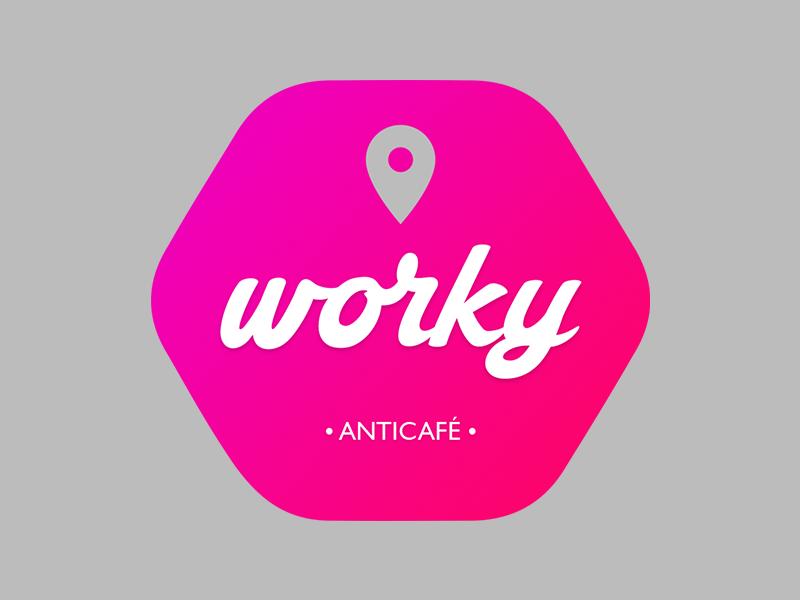 worky  workspace logo worky