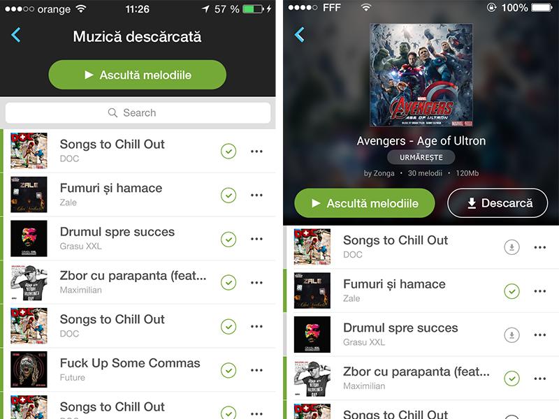 My Music  ui ios app music