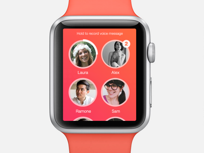 Apple Watch Voice App watch iwatch apple ios 8 voice messaging