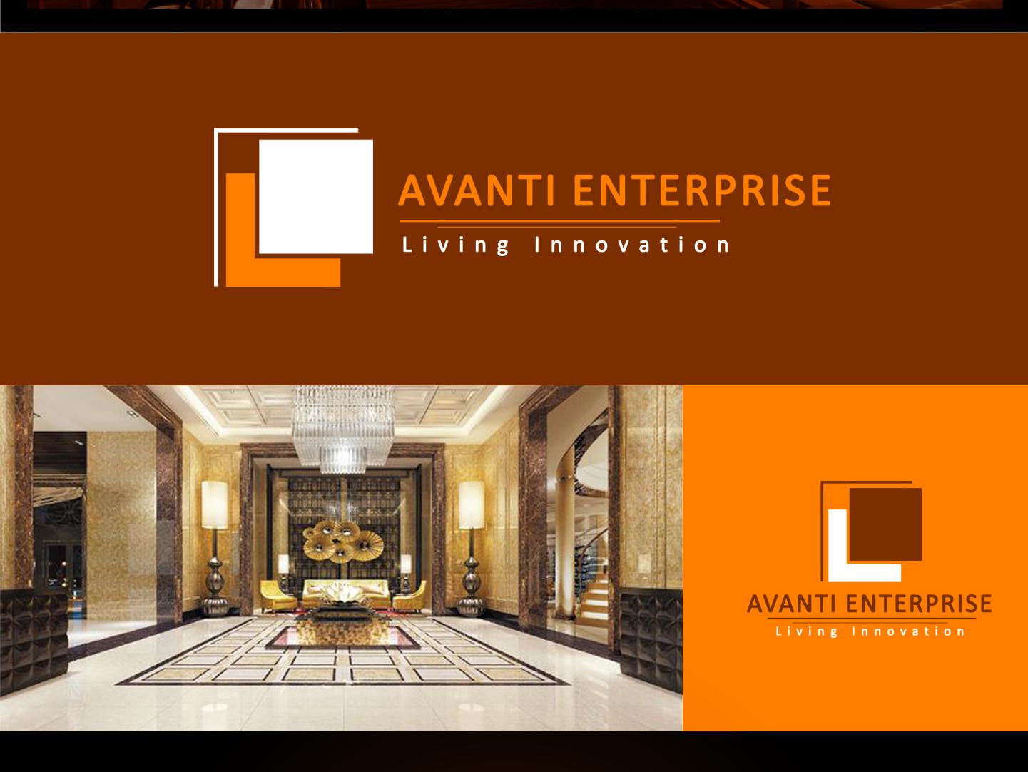 Avanti Enterprise Logo With Background logo adobe photoshop adobe illustrator